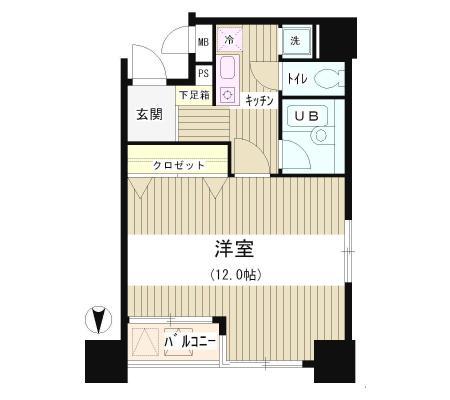 アクアコート601号室