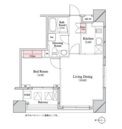 パークキューブ八丁堀1101号室