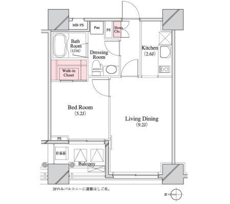 パークキューブ八丁堀403号室