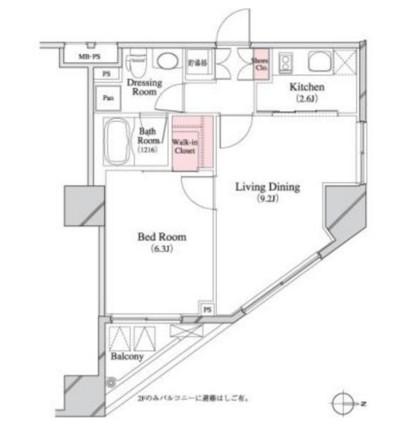 パークキューブ八丁堀508号室