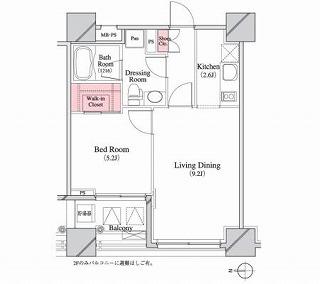 パークキューブ八丁堀903号室