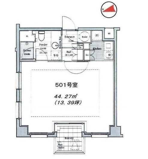 イル・チェントロ・セレーノ501号室