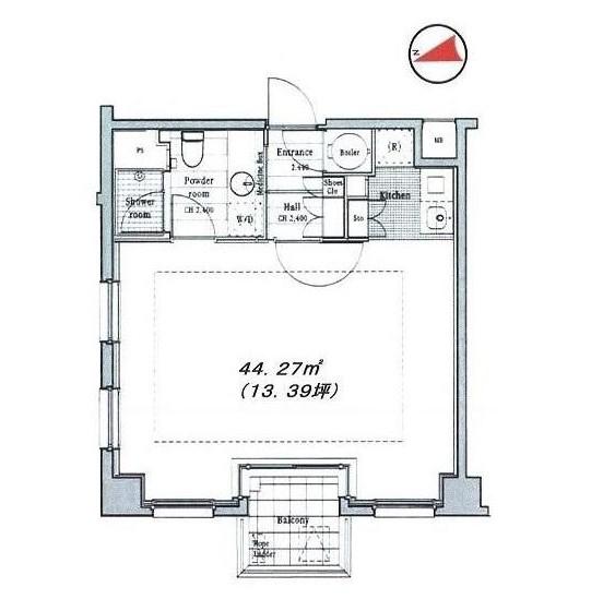 イル・チェントロ・セレーノ503号室