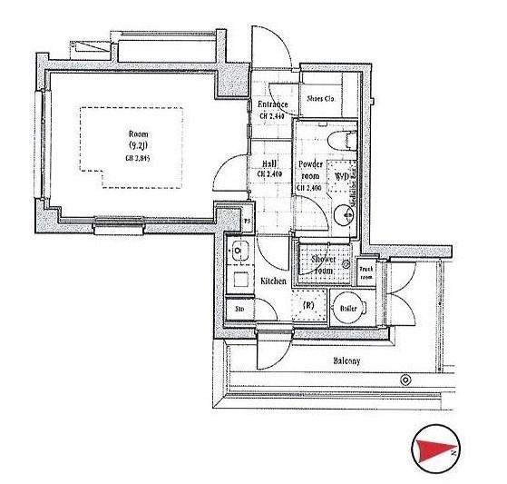 イル・チェントロ・セレーノ504号室