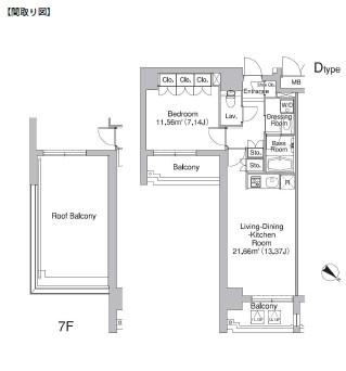 アクシルコート市谷砂土原1001号室