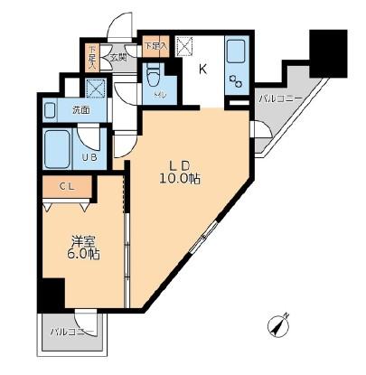 ドゥーエ幡ヶ谷1305号室