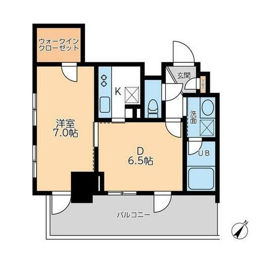 ドゥーエ幡ヶ谷1308号室