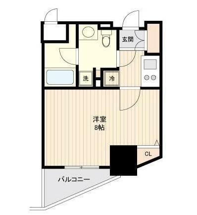 ドゥーエ幡ヶ谷1401号室