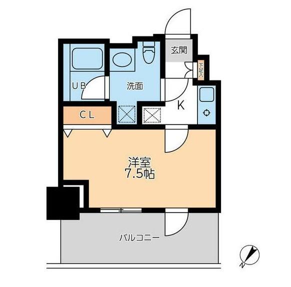 ドゥーエ幡ヶ谷1503号室