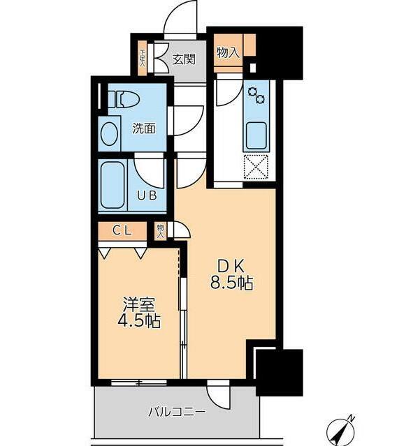 ドゥーエ幡ヶ谷1706号室