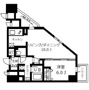 ドゥーエ幡ヶ谷505号室