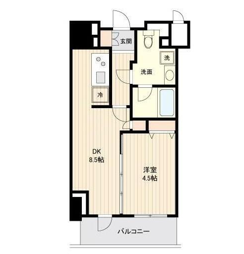 ドゥーエ幡ヶ谷507号室