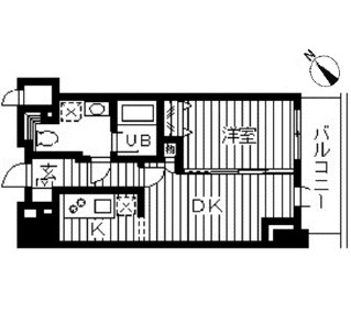 ドゥーエ幡ヶ谷607号室
