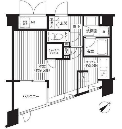 アーバス新宿余丁町101号室