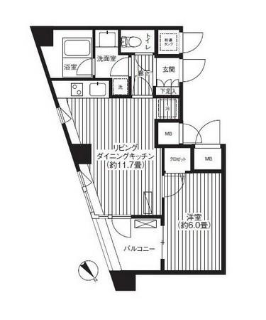 アーバス新宿余丁町312号室