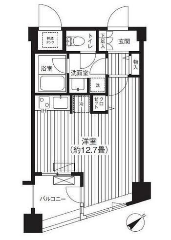 アーバス新宿余丁町503号室