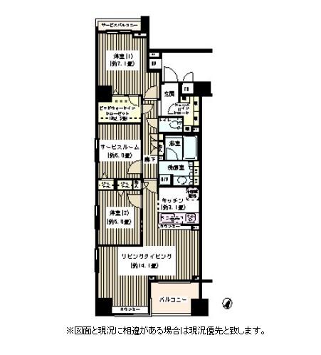 KDXレジデンス日本橋水天宮601号室