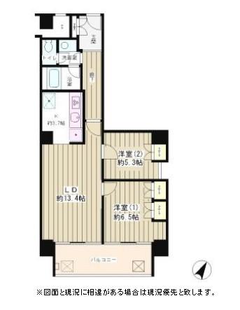 リバー&タワー1002号室