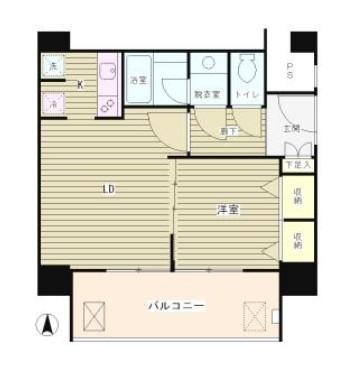 リバー&タワー1304号室