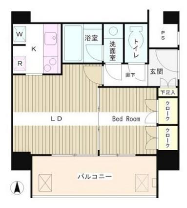 リバー&タワー1404号室