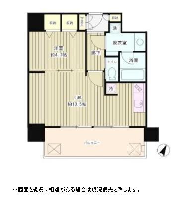 リバー&タワー503号室
