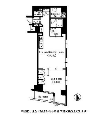 パークアクシス銀座イースト304号室