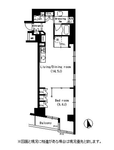 パークアクシス銀座イースト504号室