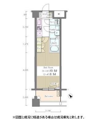 グレースレジデンス東京1104号室