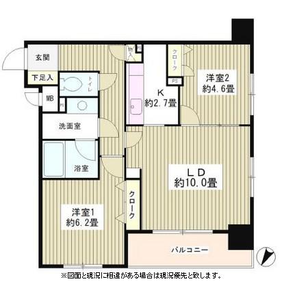 コンフィール日本橋アクアシティ405号室