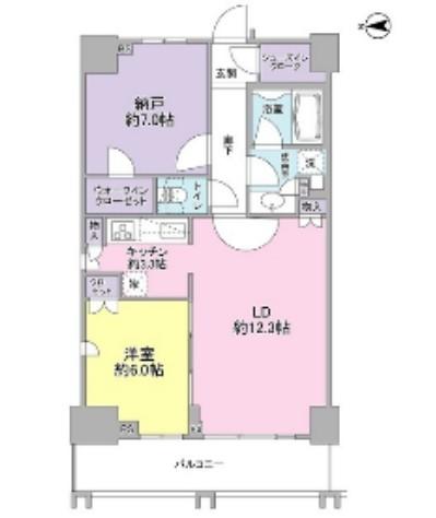 勝どきビュータワー1907号室