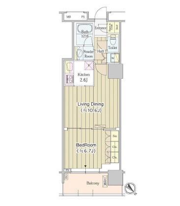 ユニゾンタワー1011号室