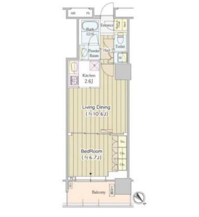 ユニゾンタワー1111号室