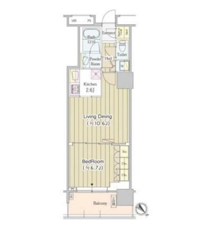 ユニゾンタワー1211号室