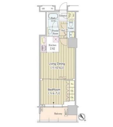 ユニゾンタワー1411号室