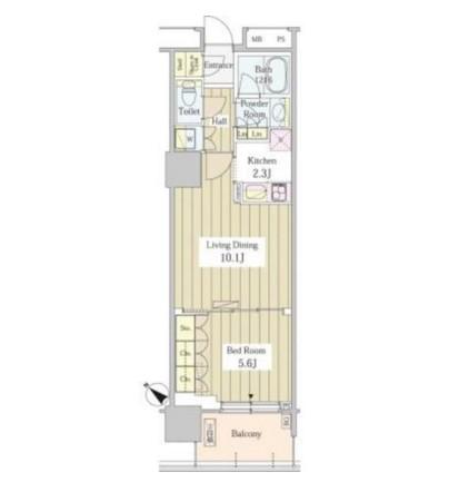 ユニゾンタワー1702号室