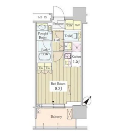 ユニゾンタワー1807号室