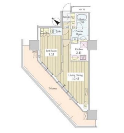 ユニゾンタワー1901号室