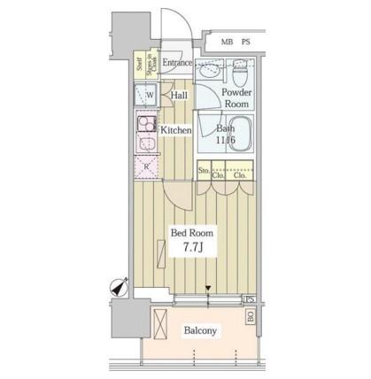 ユニゾンタワー1906号室