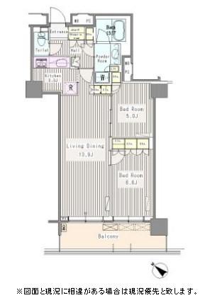 ユニゾンタワー2202号室