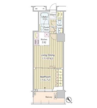 ユニゾンタワー2209号室