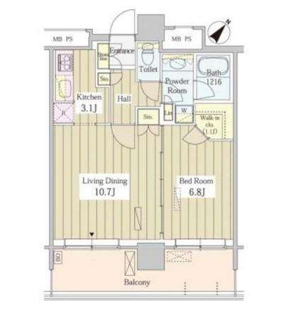 ユニゾンタワー2505号室