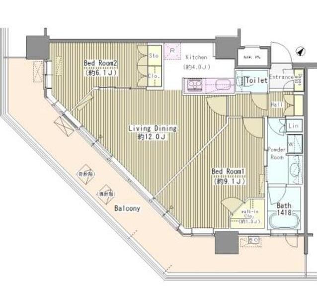 ユニゾンタワー2703号室
