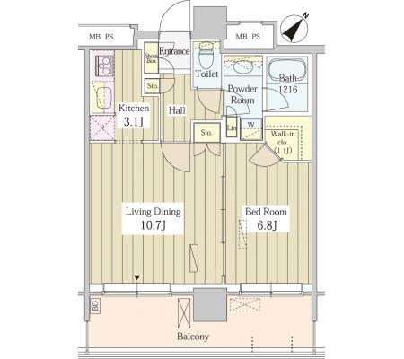 ユニゾンタワー2705号室