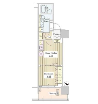 ユニゾンタワー703号室