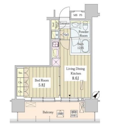 ユニゾンタワー705号室