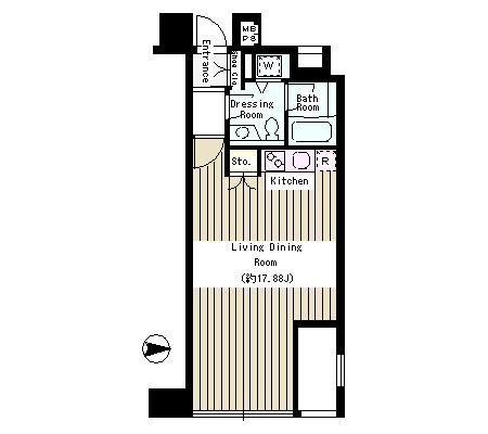 クレアーレ麹町302号室