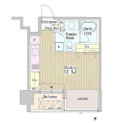アーバンキューブ九段南502号室