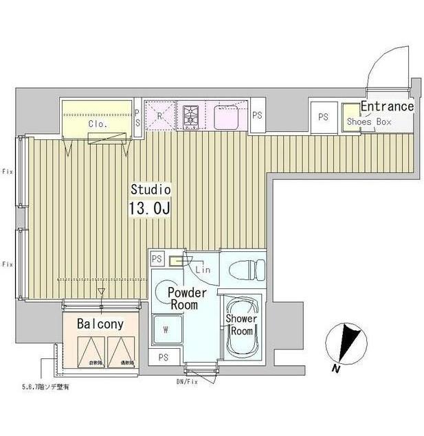 アーバンキューブ九段南704号室