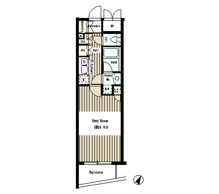 N35 EAST402号室