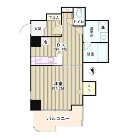 プラザ小島屋抜弁天ビル702号室
